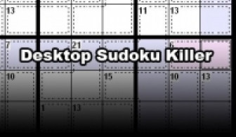 Desktop Sudoku Killer Edition