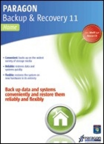 Paragon Backup & Recovery 11 Home Family License