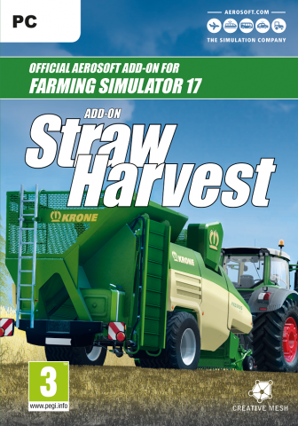 Farming Simulator 17 - Straw Harvest Add-On