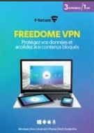 F-Secure Freedome - 3 User - 1 Year