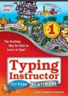 Typing Instructor for Kids Platinum 5 - Windows, UK/US Keyboard