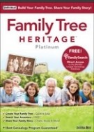 Family Tree Heritage Platinum 9 - Windows